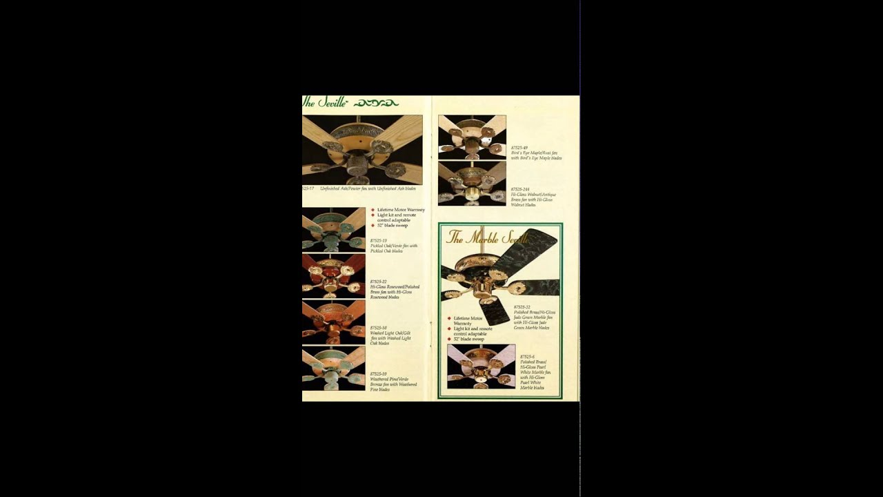 Quorum Ceiling Fan Catalog From 1996 (small)