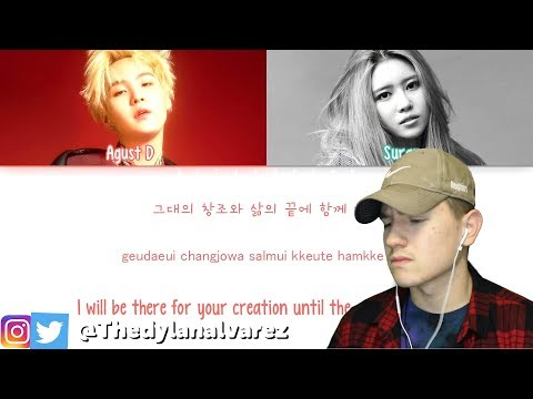 Free Download Even More Beautiful... Agust D – So Far Away (feat. 수란 (suran) Reaction Mp3 dan Mp4