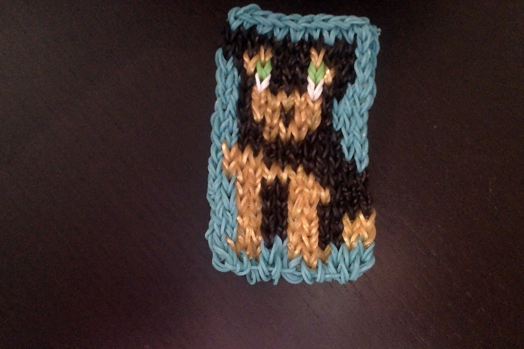 Chien rottweiler mural en loom tutoriel en fran ais youtube for Mural en francais