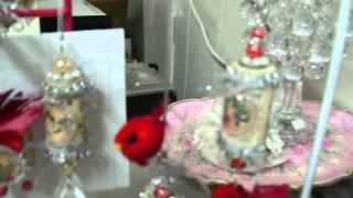 Red Vintage Cork Ornaments