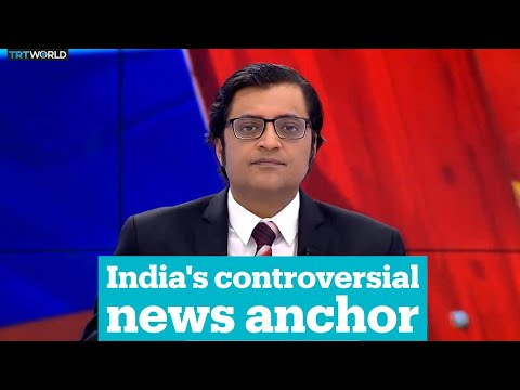 India's controversial news anchor