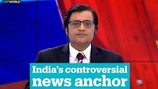 India's controversial news anchor