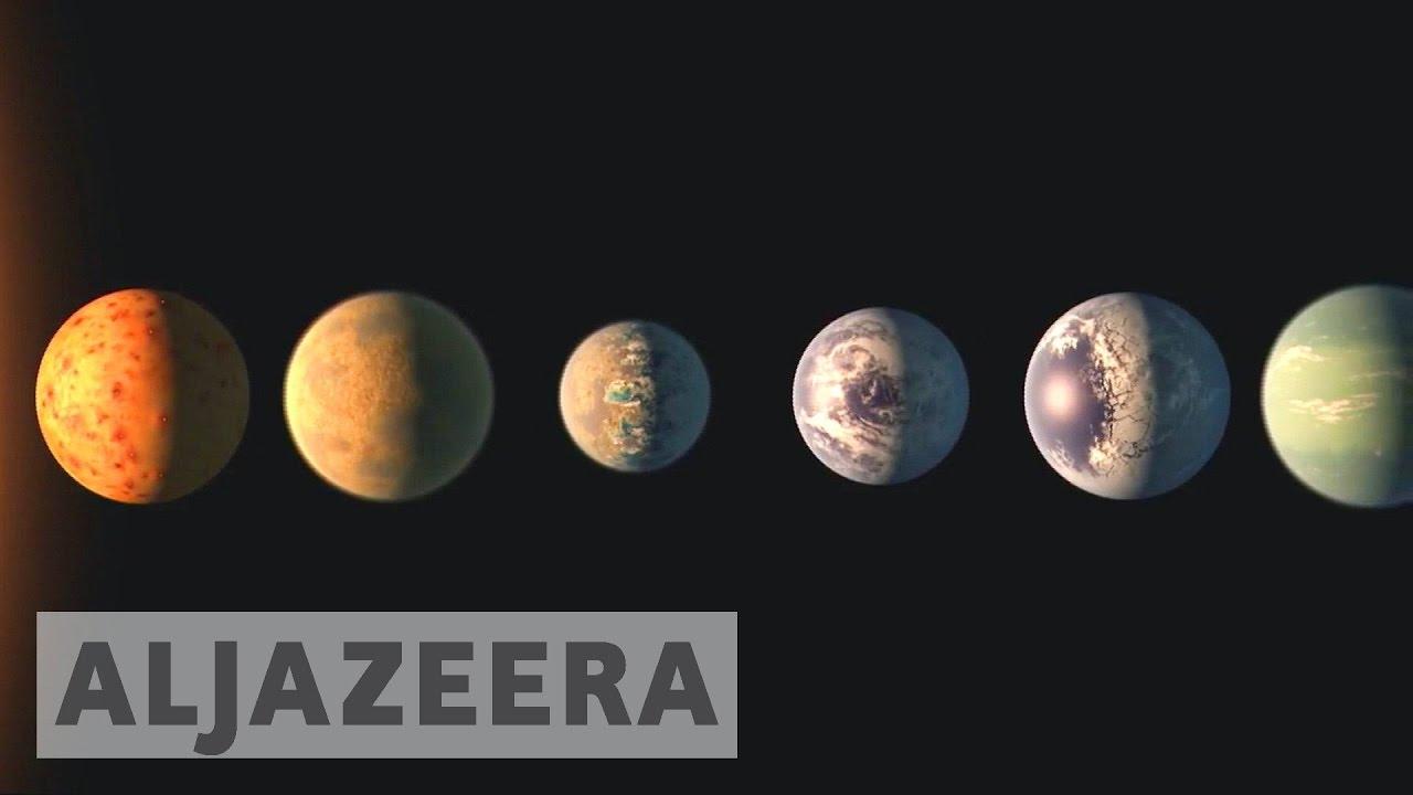 NASA discovers seven new Earth-like planets - YouTube