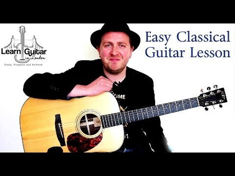 easy-classical-guitar-song---ecossaise---free-tab---how-to-play