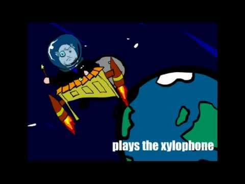 Patrick Moore Plays The Xylophone : animated music video : MrWeebl