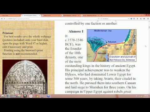 Jericho & The Real Exodus