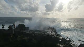 LIVE : Episode Forte Houle du 23/10/2018 Dans Le Sud Ouest De La Réunion