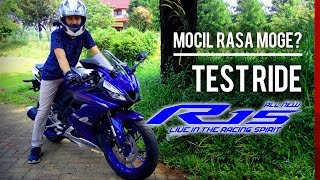 Preview & Test Ride All new R15 V3, rasa moge beneran!