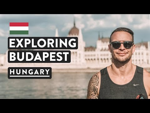 COOLEST CITY! Budapest Chain Bridge, Buda Castle And Fishermans Bastion | Hungary Travel Vlog