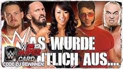 10 ehemalige WWE Wrestler #13 + WWE 2K19 WWE Supercard Codes zu gewinnen! (Deutsch/German)