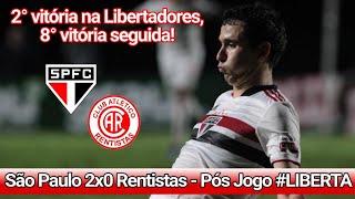 @São Paulo FC 2x0 Rentistas   Pós Jogo #Libertadores