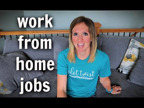 Work From Home Job Ideas   Let's Talk Money!