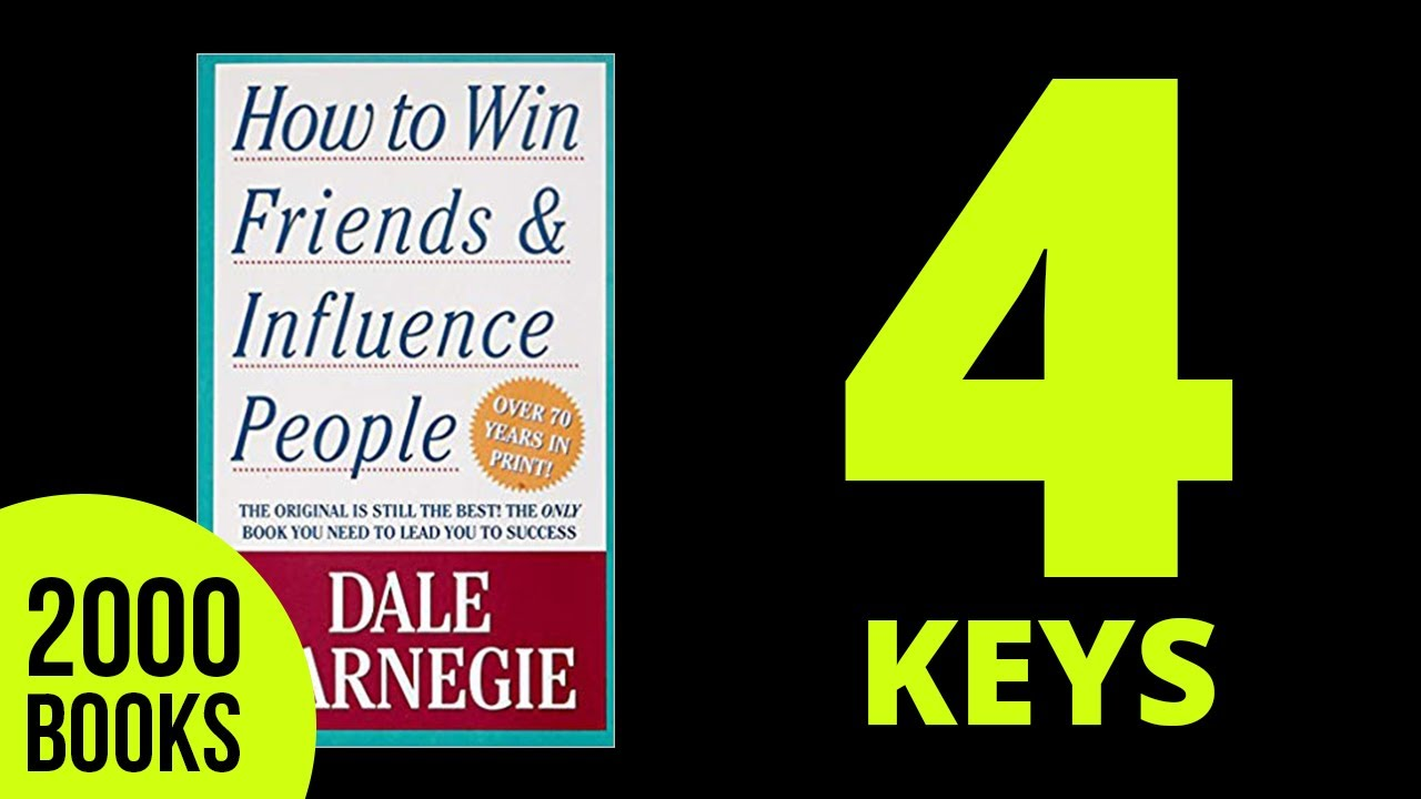 How To Win Friends And Influence People Audiobook Summary Dale Carnegie   Youtube
