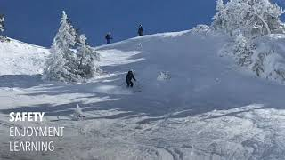 Learning Off Piste Intro Courses | Ski Definition | Baqueira-Beret Spain www.skidefinition.com