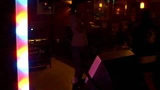 kandi sings karaoke