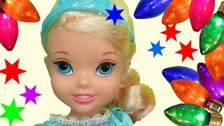 new years party elsa anna toddlers lots of guests celebrate dancing playing eating fun