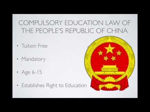 China Compulsory Education Law
