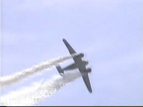 Beech 18 Aerobatic Performance with Bobby Younkin 1997