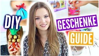 DIY GESCHENKE GUIDE ~ Geschenke schön verpacken | Julia Beautx