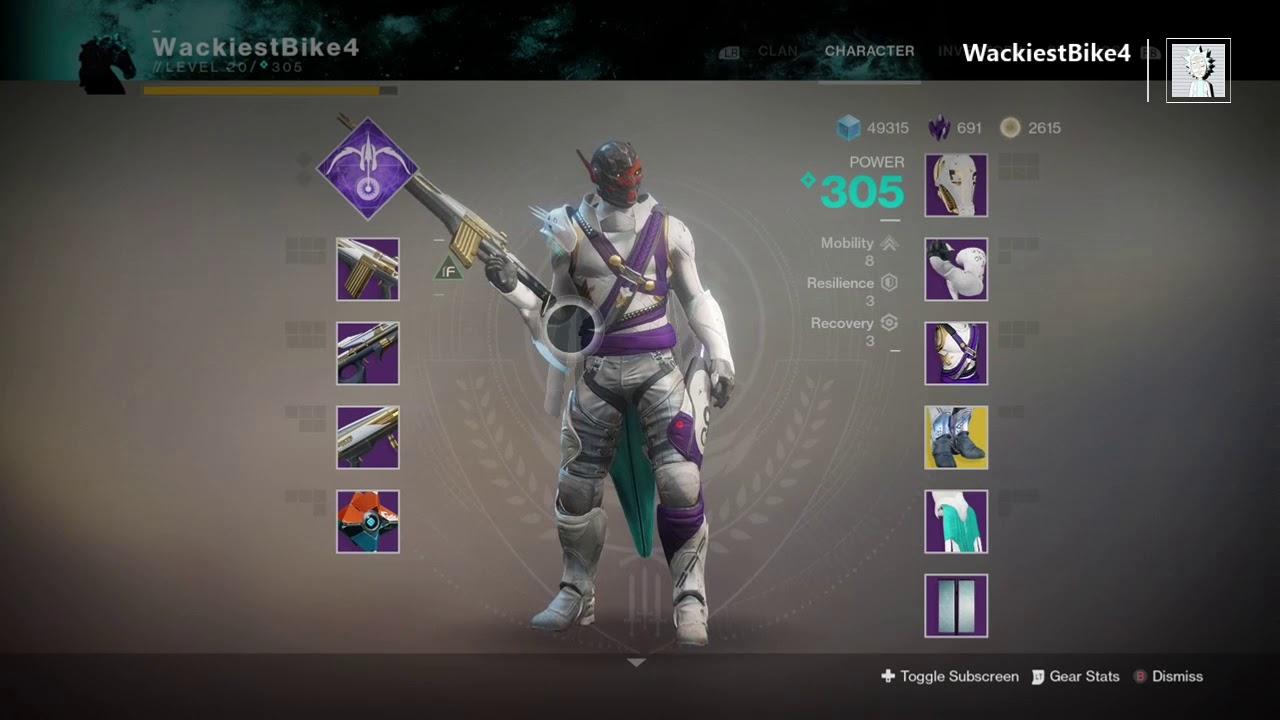 Best Lvl  Hunter Pve Build Destiny