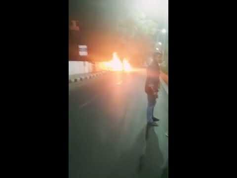 Ashwin Sundar car racer accident