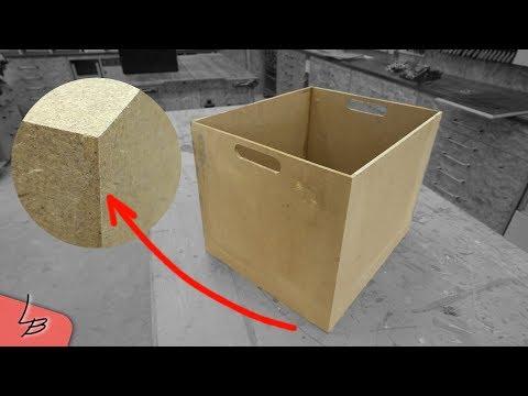 Relativ Holzkiste selber bauen | Perfekte Gehrungen! So gehts LQ46