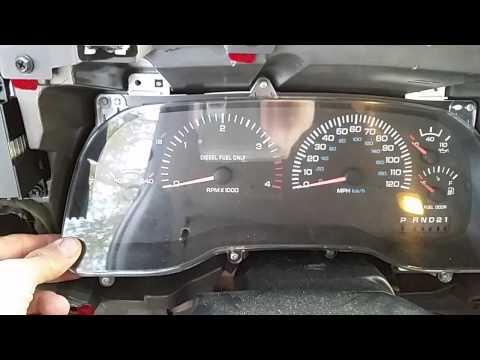 """""""02 Dodge Ram instrument cluster removal"""""""