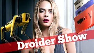 Чертежи Galaxy S9 и слухи про iPhone 2018 | Droider Show #317