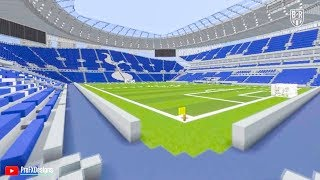 Football Stadiums Built with Amazing Detail in Minecraft