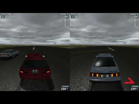 Honda Civic SiR (EG6) VS Toyota Corolla LEVIN SR Drag Racing/WR2