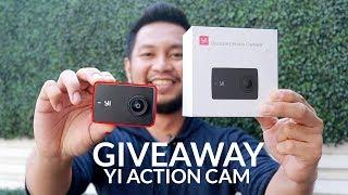 Giveaway Yi Discovery Action Camera - Review Singkat Si Mungil 4K!