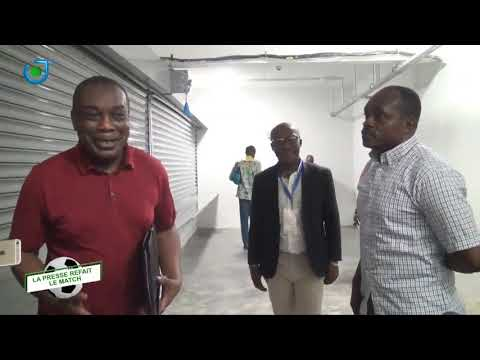 LA PRESSE REFAIT LE MATCH With John Paul Sama:Visit to Japoma Stadium By COCAN Marketing Committee