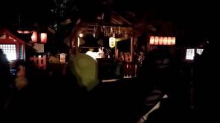 京都嵐山花灯路2016・野宮神社の雅楽の奉納演奏