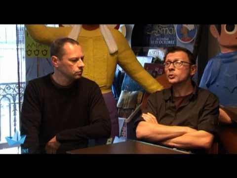 Entretien avec Vincent Patar et Stéphane Aubier