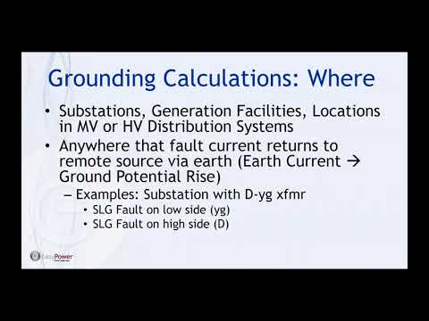 An Introduction To Grounding Calculations And Why They Are Necessary