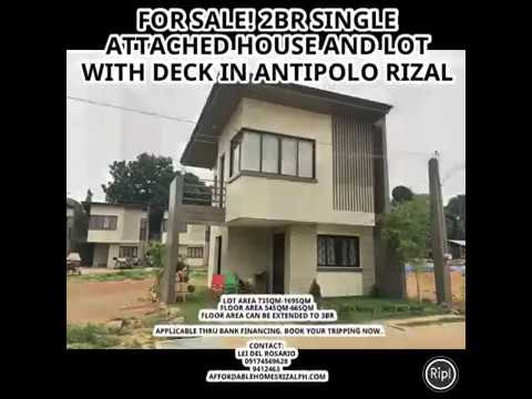 Eastview Homes 3 Antipolo Rizal For Sale