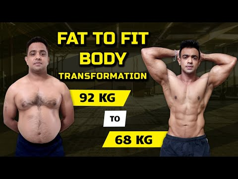 Workout motivation -Robin's Body Transformation - Fuerza Ban