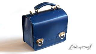 Fading Mist 手作皮革迷你斜揹袋 Handmade Leather Mini Messenger Bag