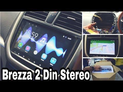 Maruti Suzuki Brezza 2-DIn Stereo - Installation & Features!!