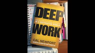 Download DEEP WORK: RULES FOR FOCUSED SUCCESS IN DISTRACTED WORLD   FULL AUDIOBOOK