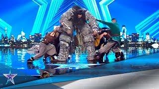El GIGANTE de 'JUEGO de TRONOS' ATEMORIZA al jurado | Audiciones 5 | Got Talent España 5 (2019)