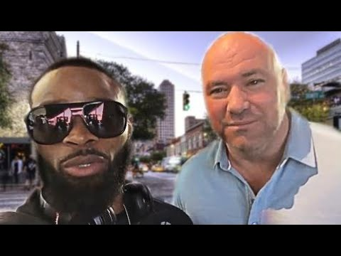 Tyron Woodley wants to see Dana White fight Wonderboy.. Great reaction by Robin Black -UFC 209 HD
