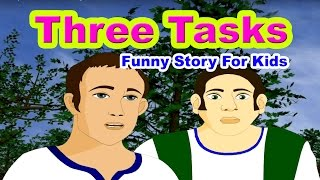 Three Tasks - Panchatantra Tales in English  Stories For Kids In English  Bedtime Stories