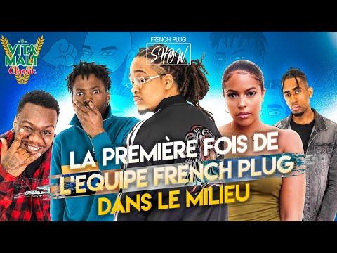 La première fois de l'equipe French Plug dans le milieu Hip-hop (Baloo, Fodje, Dog Logan, Ayma...)