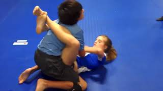 Boy and Girl Wrestling Video 2