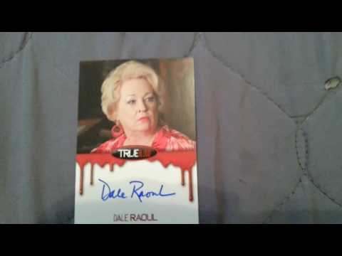 DALE RAOUL Actress  True Blood & More!  Autograph Collection ing FREEZE