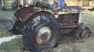 A Tractor So Old It Grew Mold-WILL IT START?