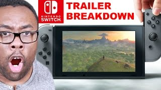 is nintendo switch the end of 3ds wii u trailer breakdown review