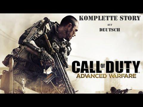 Call of Duty: Advanced Warfare - Game Movie/Alle Sequenzen - Deutsch/German