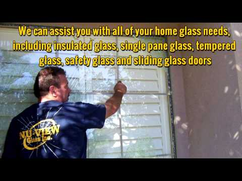 NU VIEW Glass Inc.  Peoria AZ Window Replacement and Repair